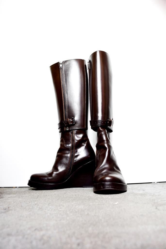 SH080017 ANN DEMEULEMEESTER ブーツ 36